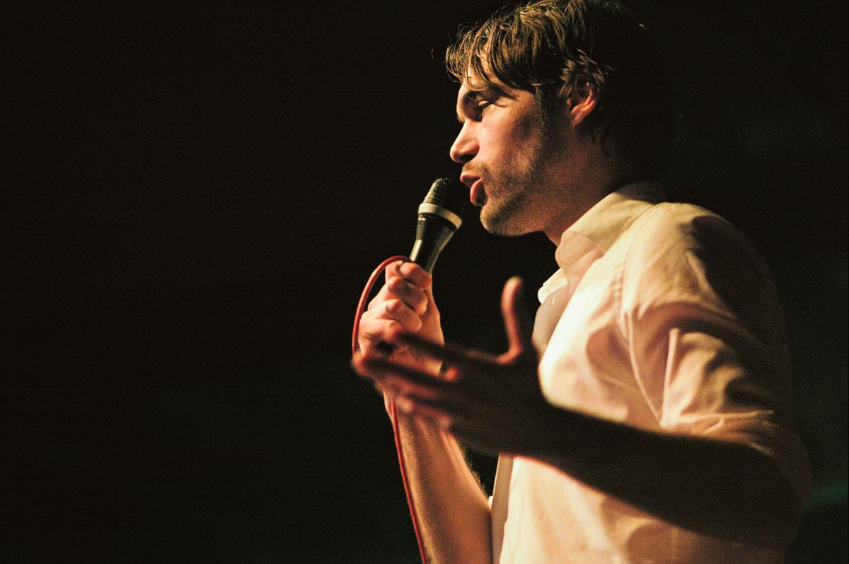 Jurg van Ginkel: stand-up comedy, dagvoorzitterschappen, comedy en cabaret in het Nederlands en Engels (Yes, English!)